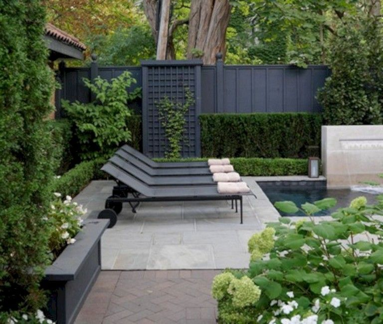 Amazing 11 Black Garden Fences Design For Black Garden Black