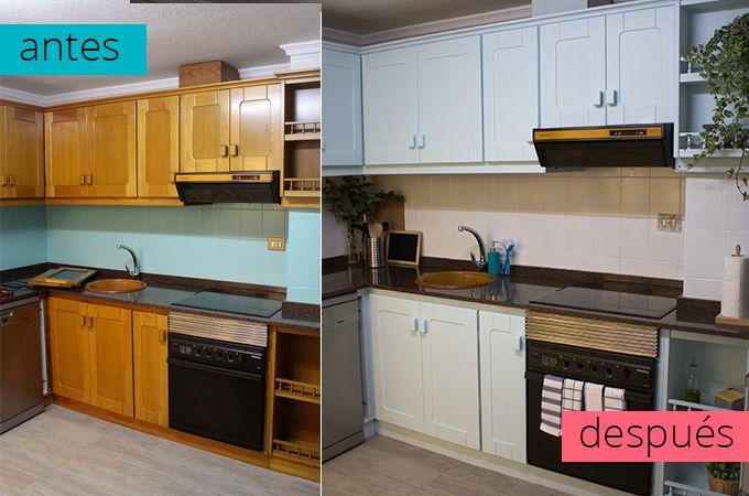 4 Pasos Para Renovar Tu Cocina Con Pintura Pintar Muebles Cocina Muebles De Cocina Pintar La Cocina