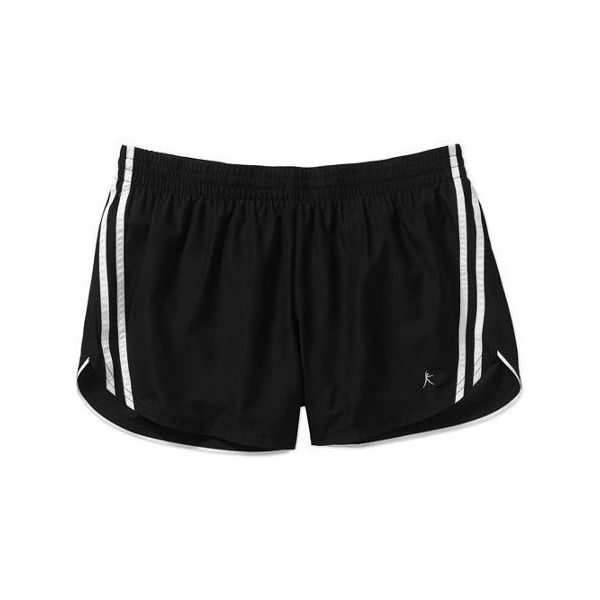 5a75f50df3573 Danskin Now Women s Woven Running Shorts with Liner Walmart.com (150 MXN) ❤  liked on Polyvore featuring activewear