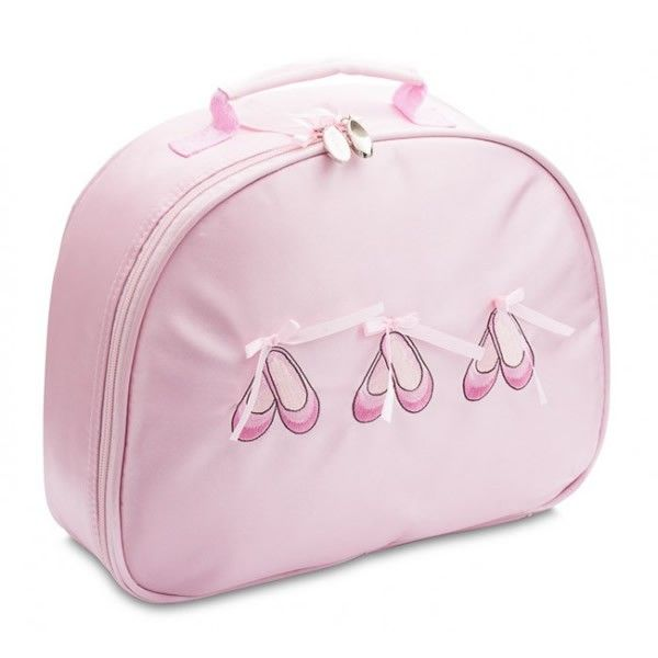 This pretty ballet bag is perfect for your little girl to
