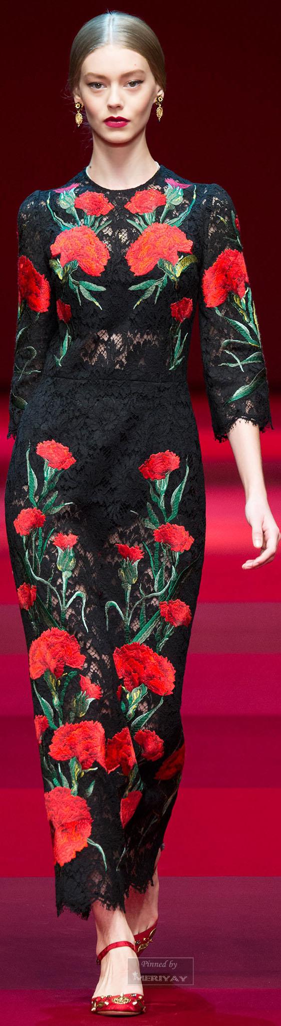 TIG's picks: Dolce & Gabbana.Spring 2015.