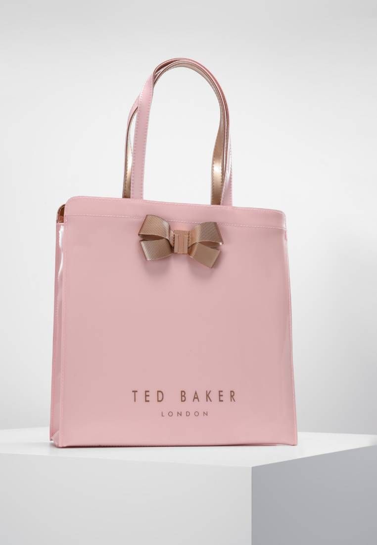 5d97ee747b82 Ted Baker. VALLCON BOW DETAIL LARGE ICON BAG - Tote bag - pink. Pattern