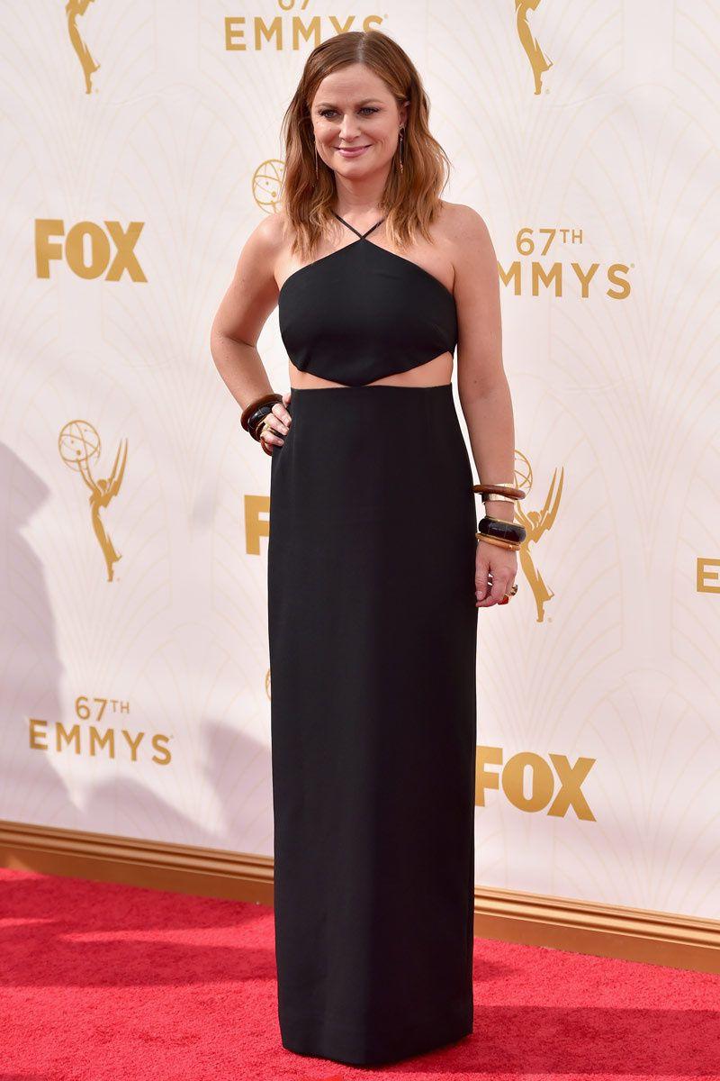 premios Emmy 2015 - Amy Poehler por Michael Kors.