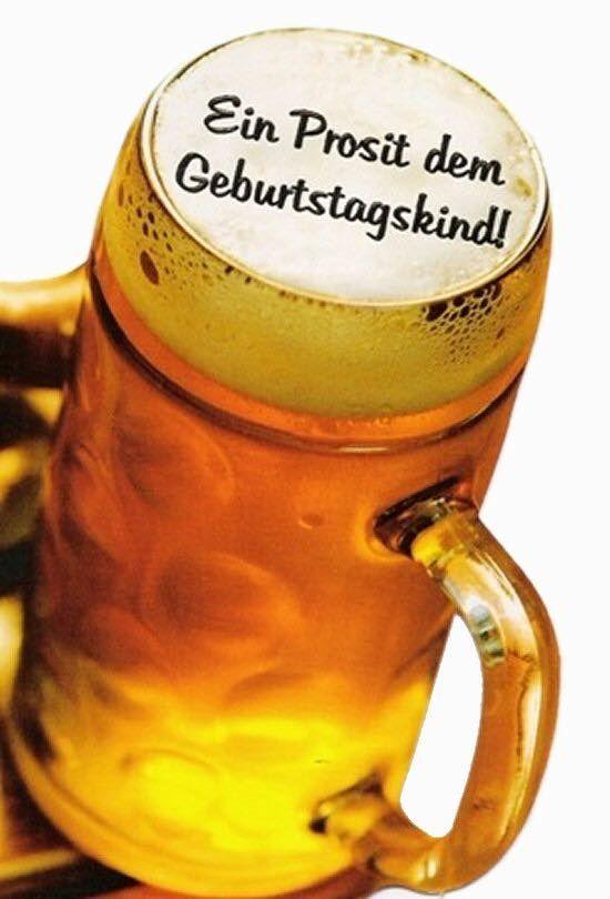 Geburtstag Mann Bier