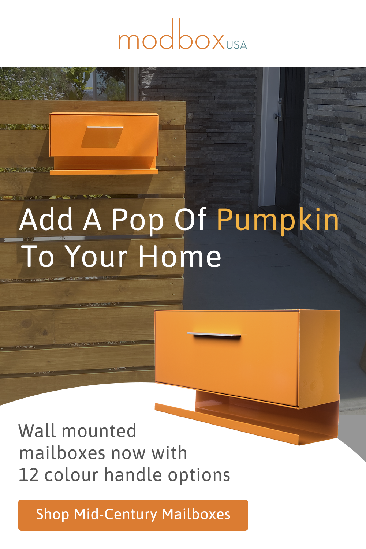 Modern Mailbox Wall Mounted Modbox In 2020 Modern Mailbox Modern Mailbox Design Mailbox Design