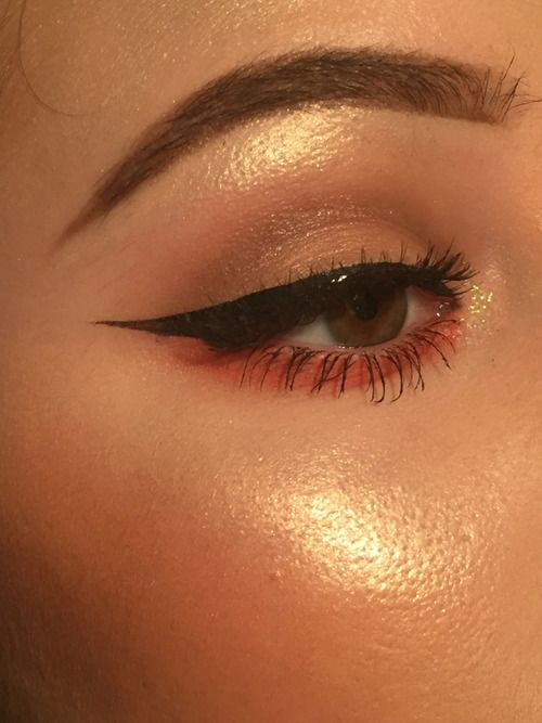 Eye makeup shared by Flore on We Heart It