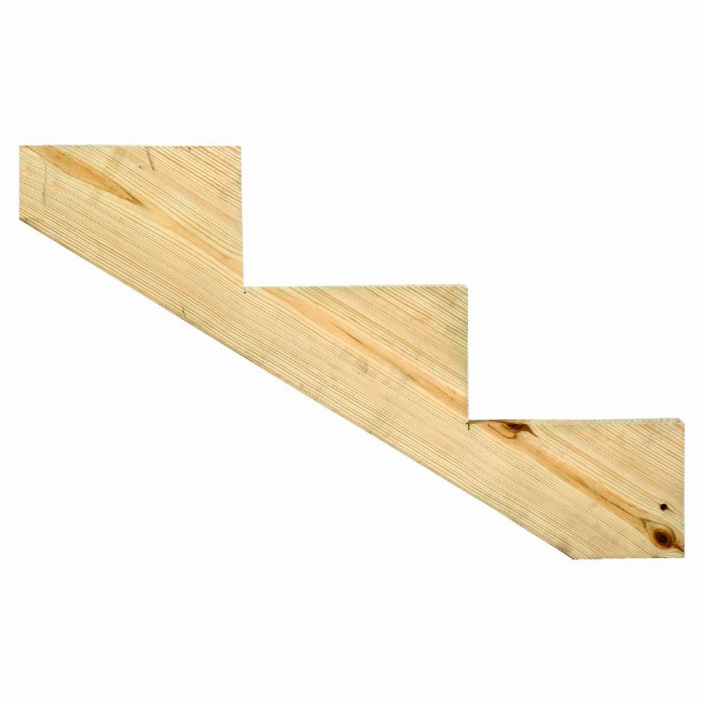Best 3 Step Ground Contact Pressure Treated Pine Stair Stringer 400 x 300