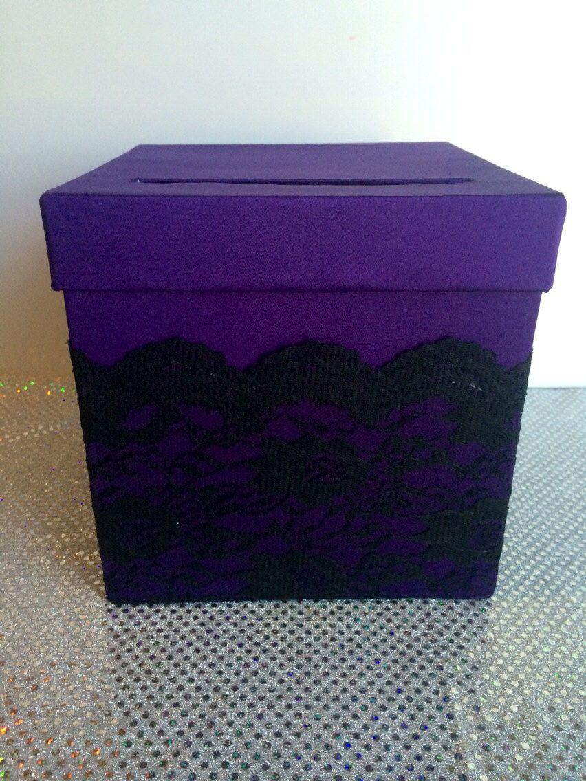 Wedding card box money box holder birthday by