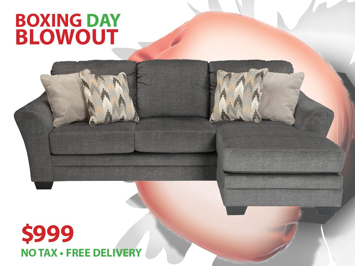 Boxing Day Extended Sale Cole Sectional Only 999 Including Tax