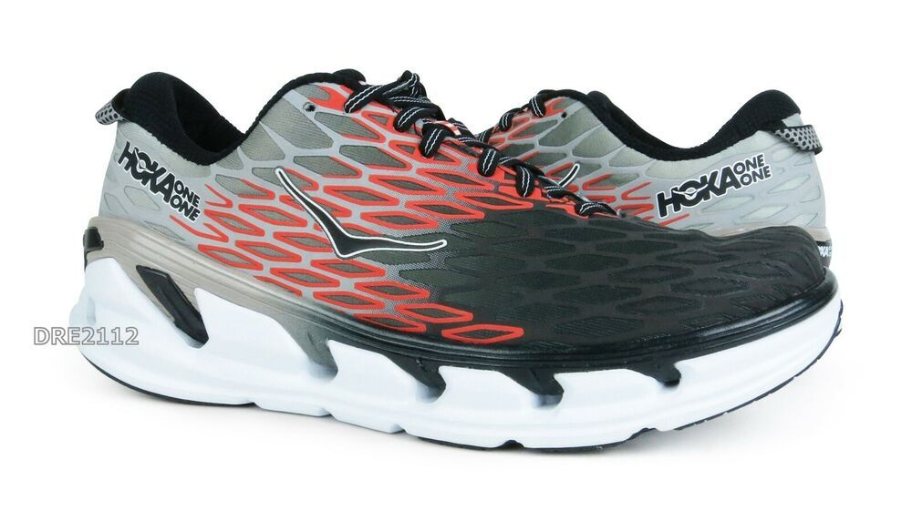 separation shoes f42f6 cf11e (eBay Sponsored) Hoka One One Vanquish 2 Grey Orange Flash Shoes Mens Size  10