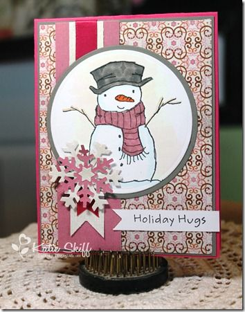 MFT Holiday Hugs Snowman