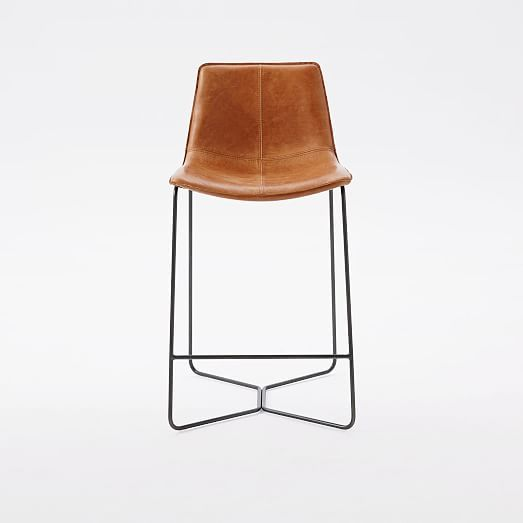 Slope Leather Bar Amp Counter Stools In 2019 Leather Bar