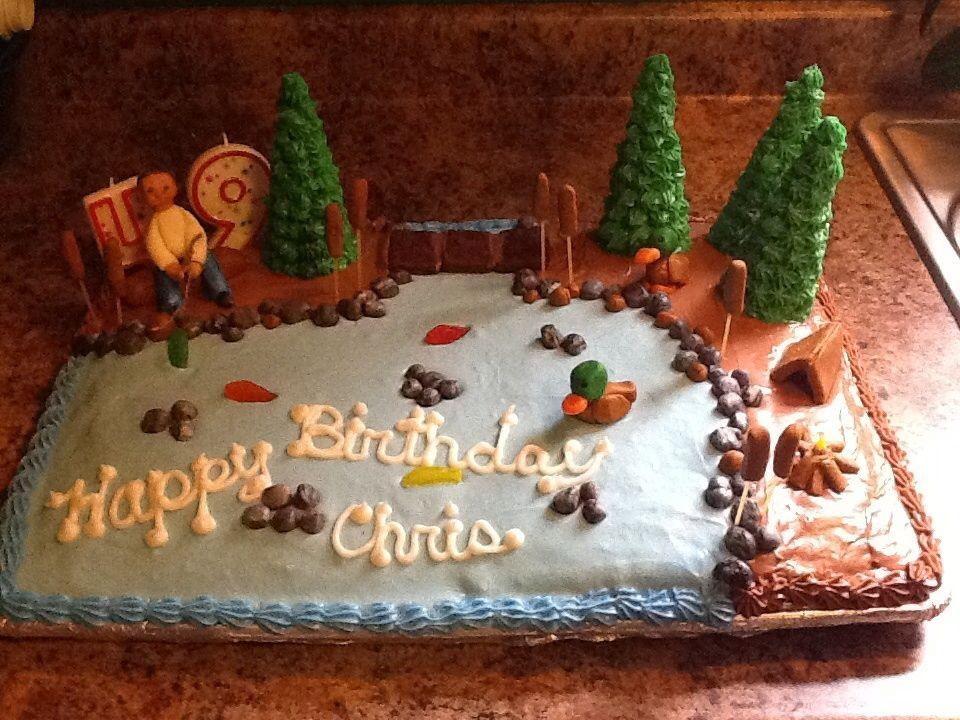 Fishing Themed Birthday Cake By Karen H On 500px Happy Birthday