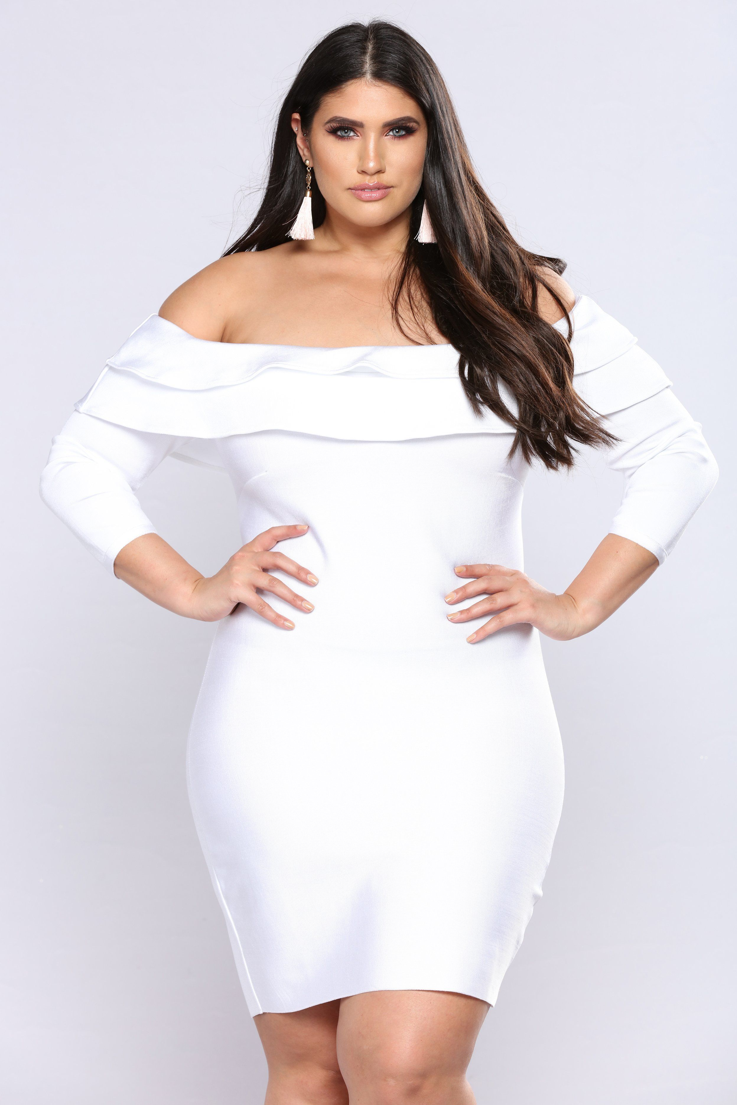 Anastasia Bandage Dress - White | White bandage dress ...