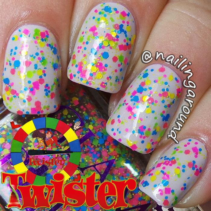 Image Of Twister By Glam Polish Nails Inspiration Nails Nail Art
