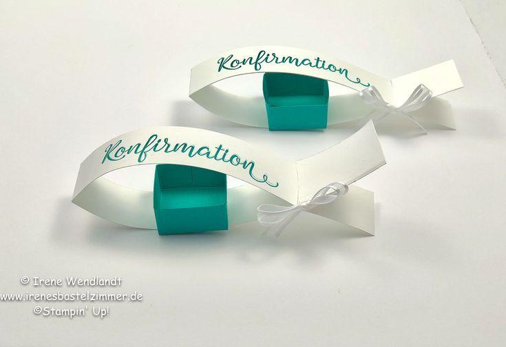 Tischdeko basteln für Konfirmation / Kommunion / Taufe