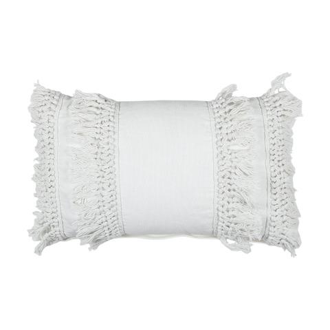 Fringe Cushion Creme Boho cushions, Cushions, Kmart decor