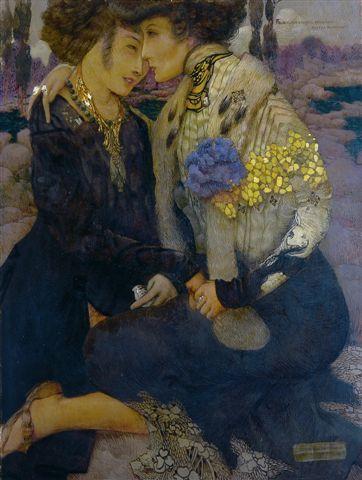 художественные картины с лесбиянками