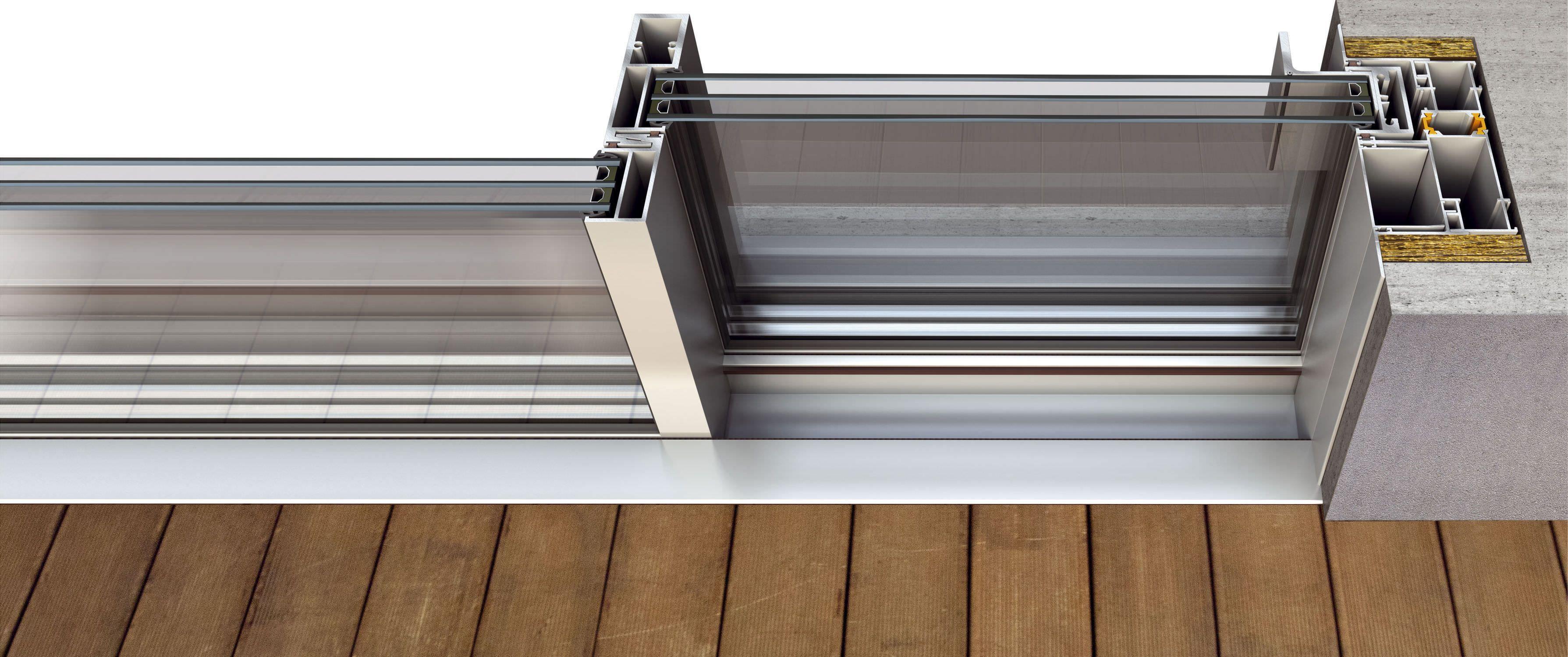 Fluo Concealed Sliding System Aldena Windows And Doors Windows And Doors Sliding Windows Architecture Details