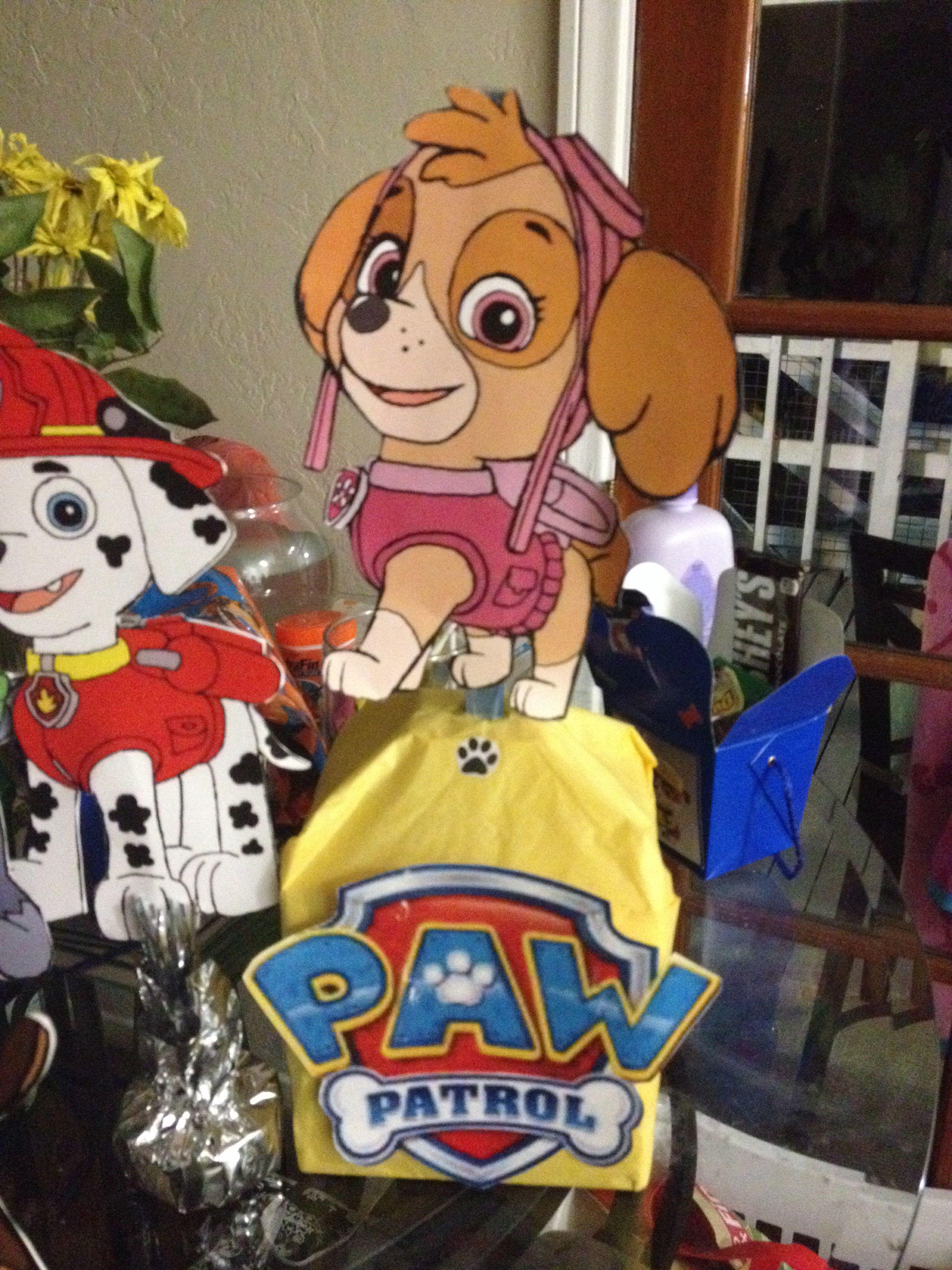 paw patrol  sky  paw patrol