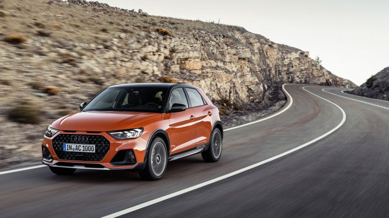 2020 Audi A1 Citycarver Brings Offroad Looks To The City Car