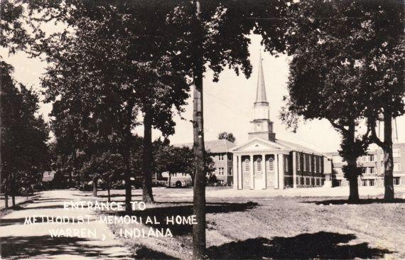 RPPC Postcard 1954 Methodist Memorial Home by TBTooVintagePhotos