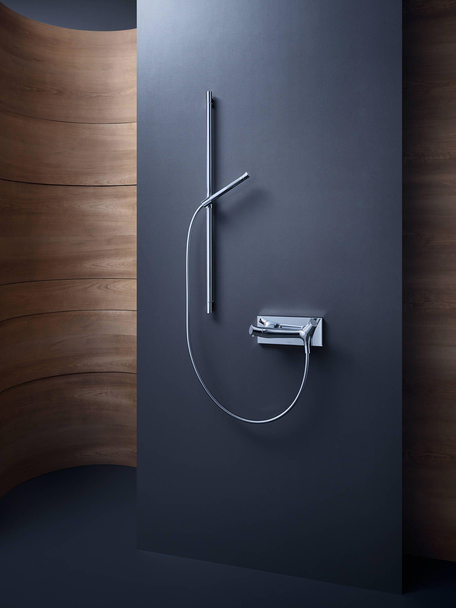 Thermostat de douche au design organique d'AXOR.