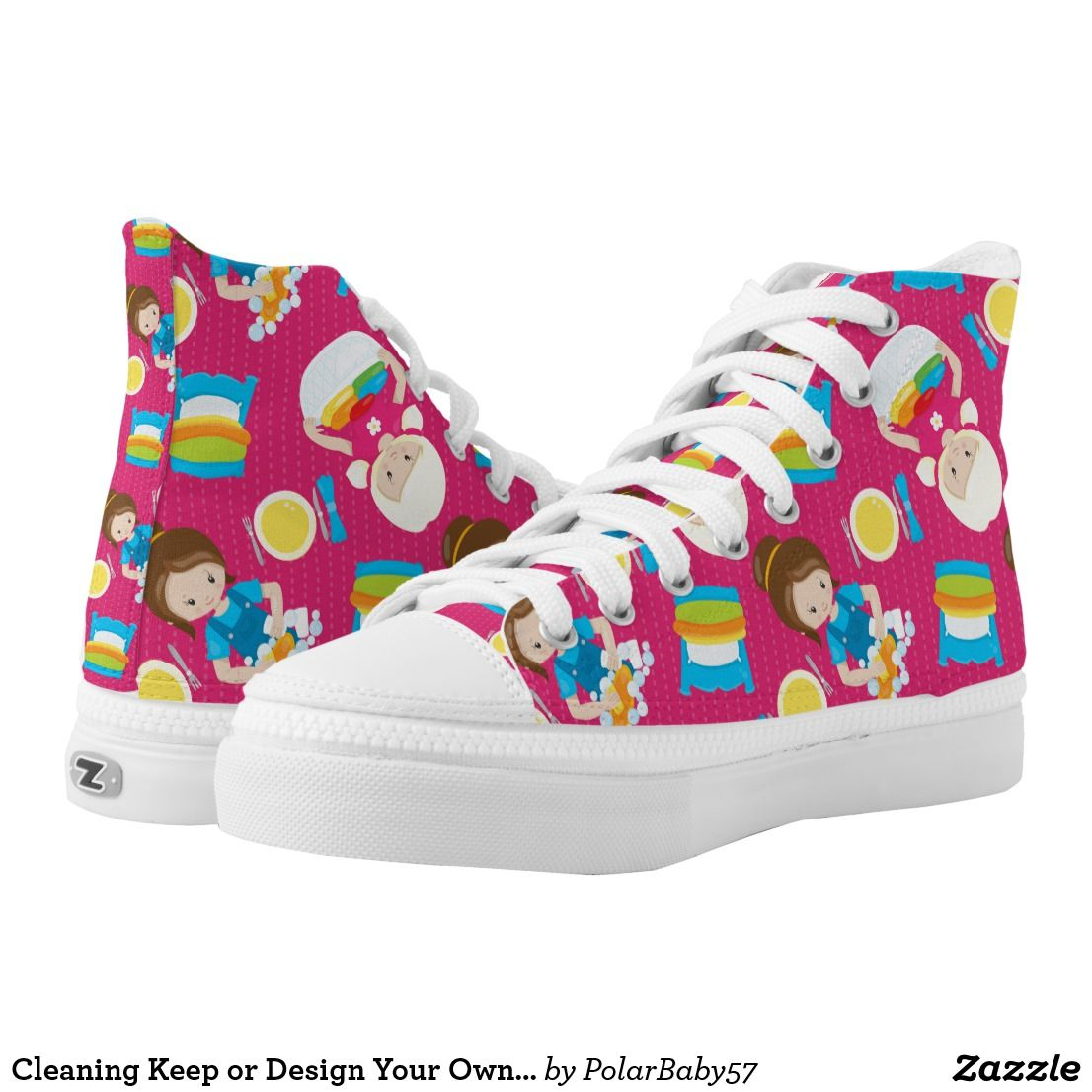 2db3873294de Cleaning Keep or Design Your Own High Top Shoes