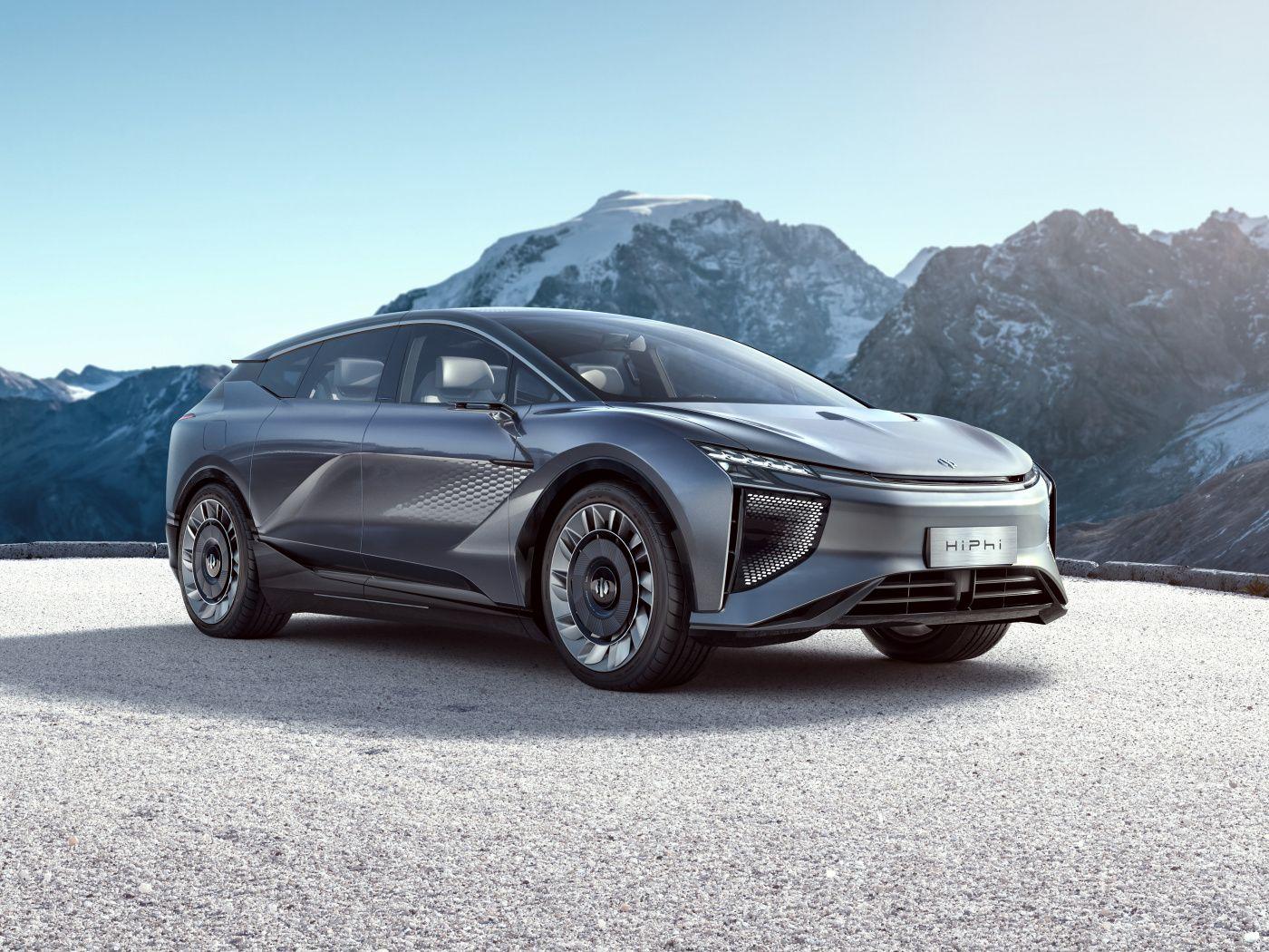 1400x1050 Car, HiPhi 1 2020, Electric car wallpaper