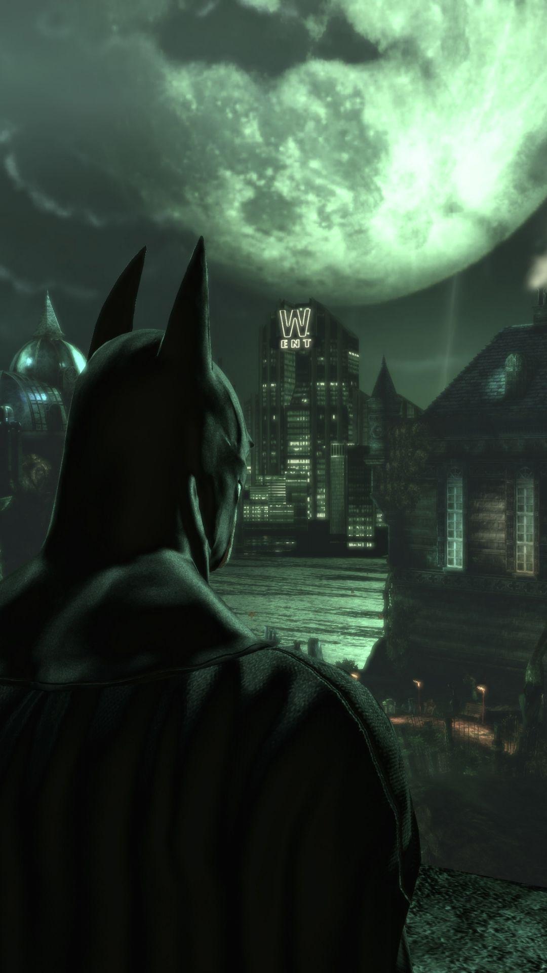 Batman Arkham Knight Scarecrow Phone Wallpaper Batman Arkham