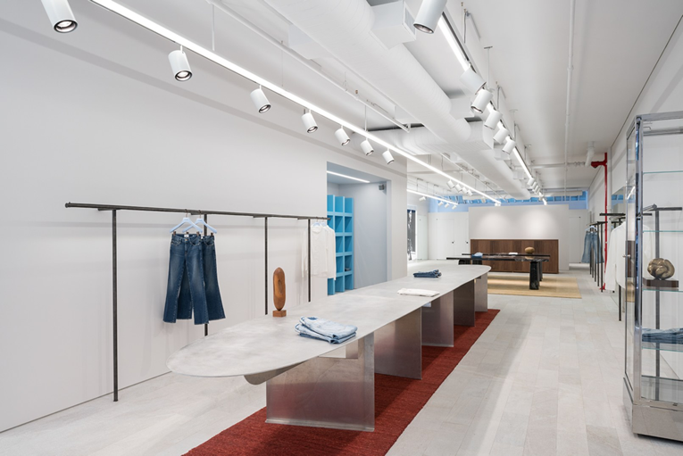 new york: frame store opening | Store, Hospitality and Interiors