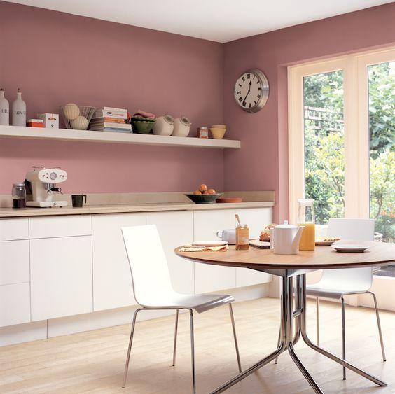 PI ] Haut les couleurs en cuisine | Le rose en impose dans la déco ...