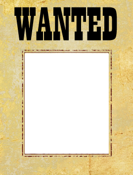 Printable Wanted Posters Awesome Wanted Poster Template Free  Most Wanted Poster Template  Free .