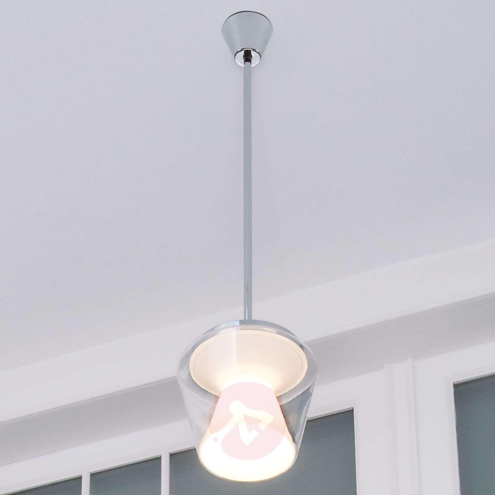 Lampa Wisząca Led Annex Z Kloszem Szklanym Lampy Wiszące W