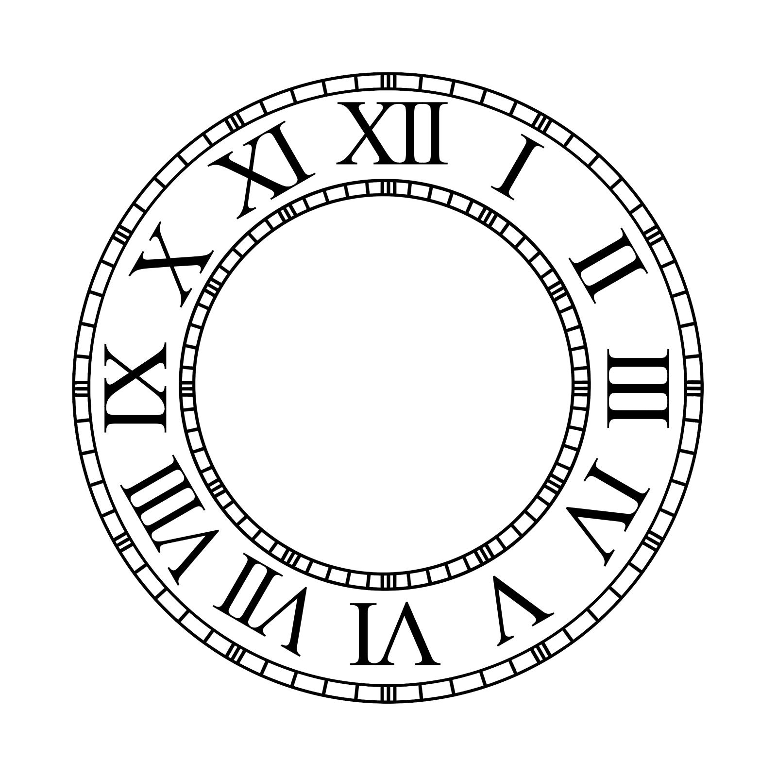 Free Clock Faces Image