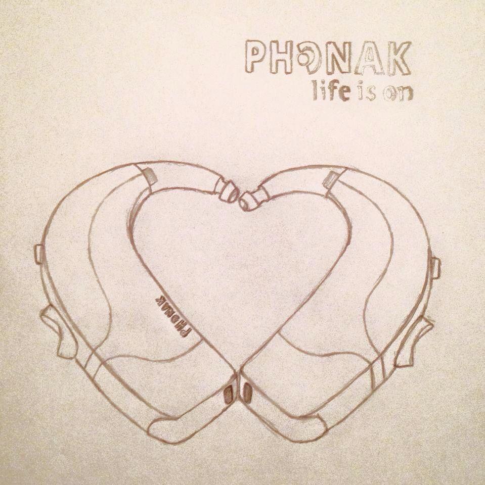 Phonak Drawn By Eloise Garland Aparato Auditivo Auditivo Aparatos