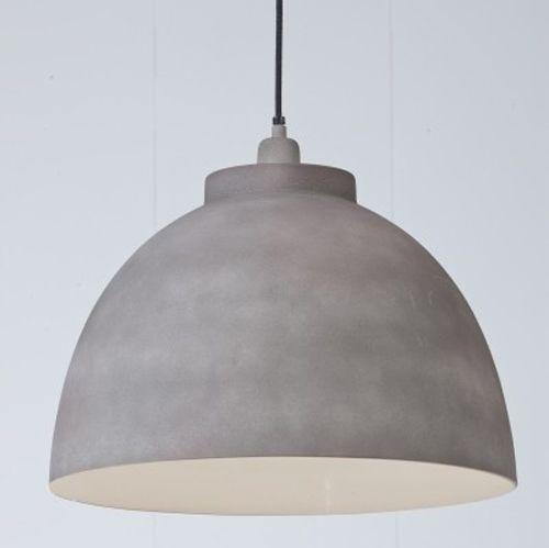 hanglamp greystone betonlook 30 cm huisje pinterest