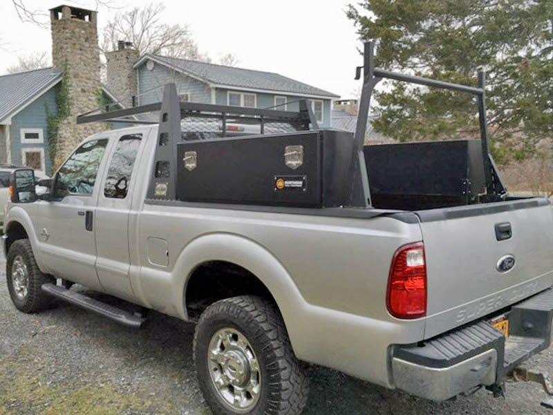 heavy duty truck racks truck storage