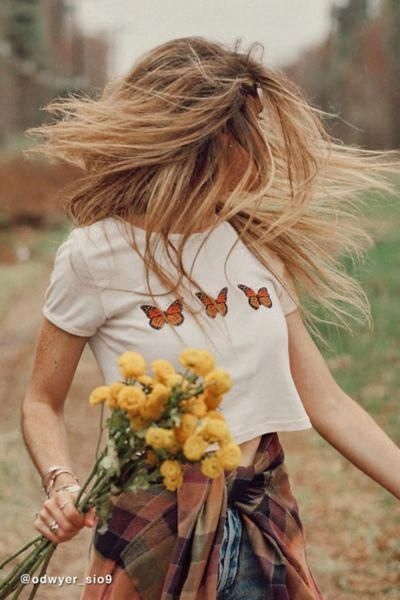 Photo of Truly Madly Deeply Butterfly Cropped Tee