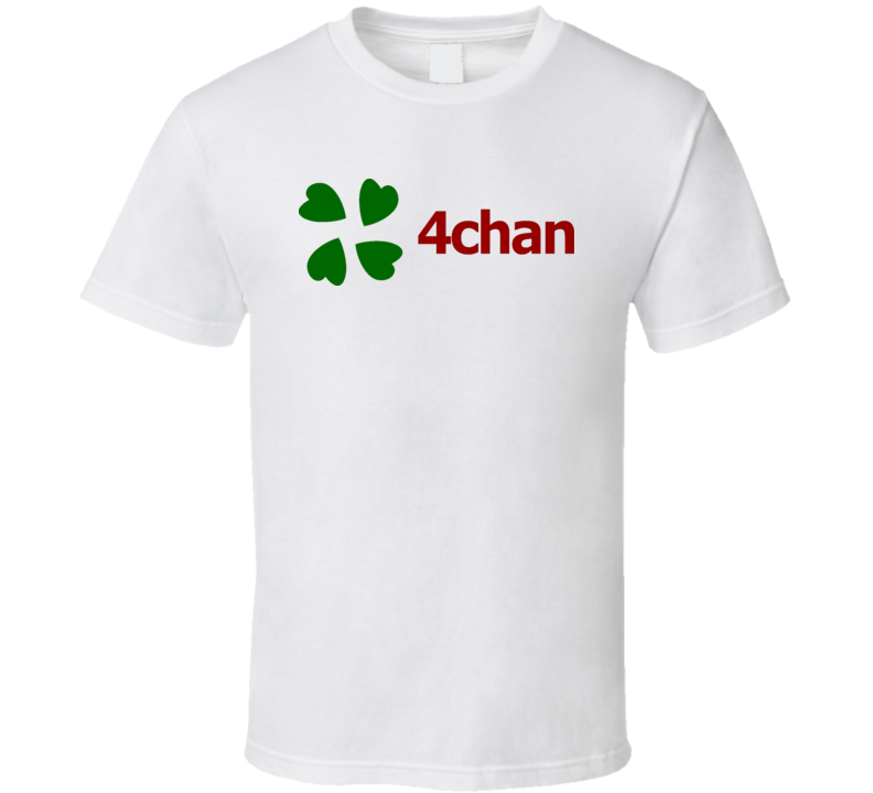 4 Chan Fake News Logo T Shirt Tshirt Logo T Shirt Shirts