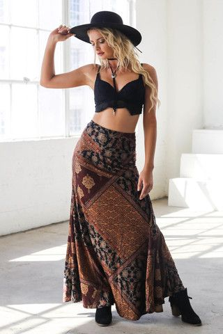 Feel the heat in a skirt for the sun-chasers and adventure seekers.