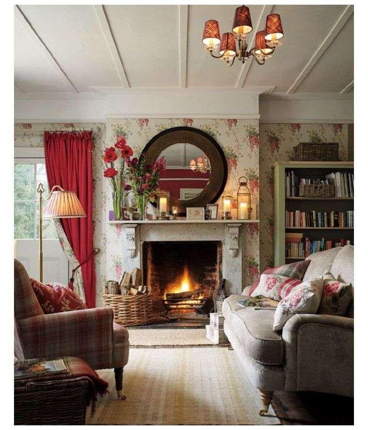 La Deco Style Cottage Anglais Nous Livre Ses Secrets Venez Les Decouvrir Decoration Anglaise Deco Anglaise Interieurs Cottage