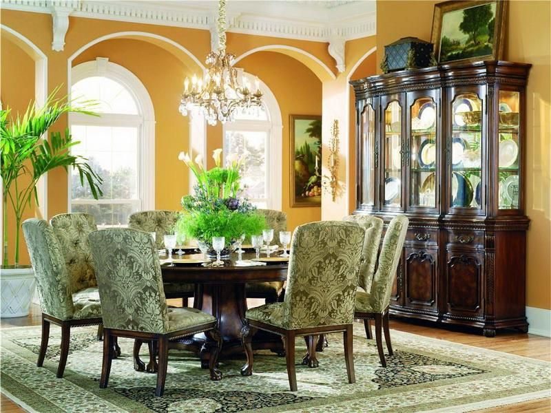 60 Round Dining Table 60 Round Dining Table Mahogany Rock Solid Glamorous Round Dining Room Table Seats 8 Inspiration