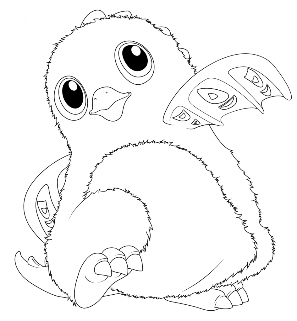 Hatchimals Coloring Pages Birthday coloring pages