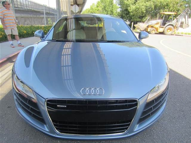 2009 Jet Blue Metallic Audi R8 http://www.iseecars.com/used-cars/used-audi-for-sale