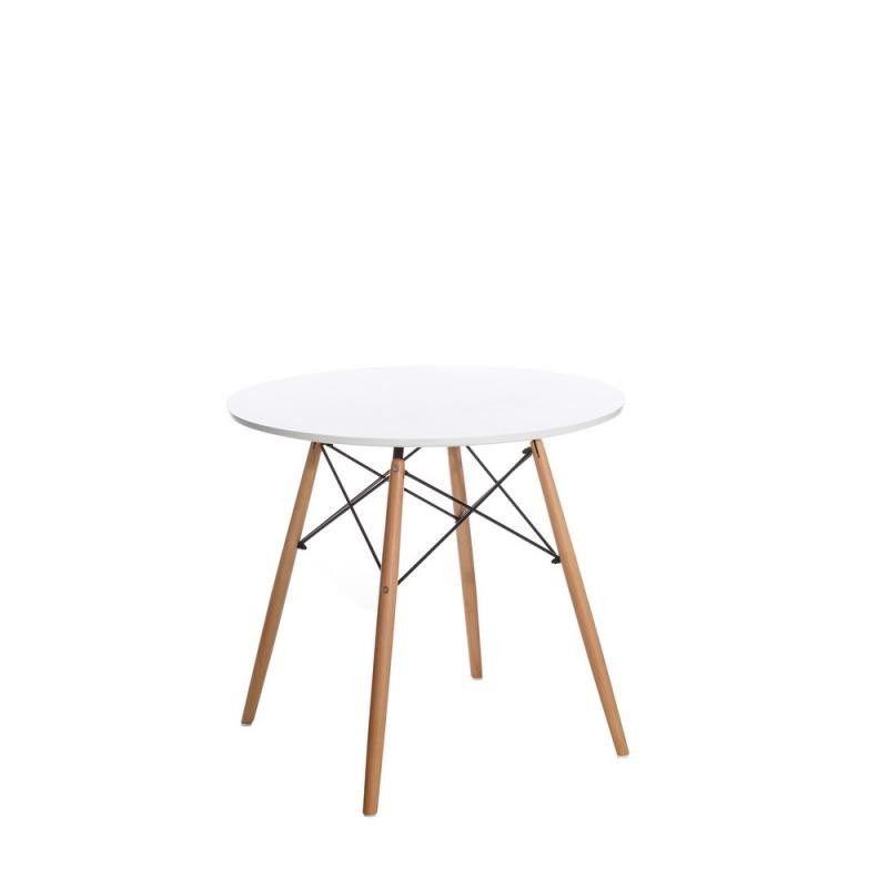 Mesa comedor blanco natural dm madera - Tienda de decoracion online ...
