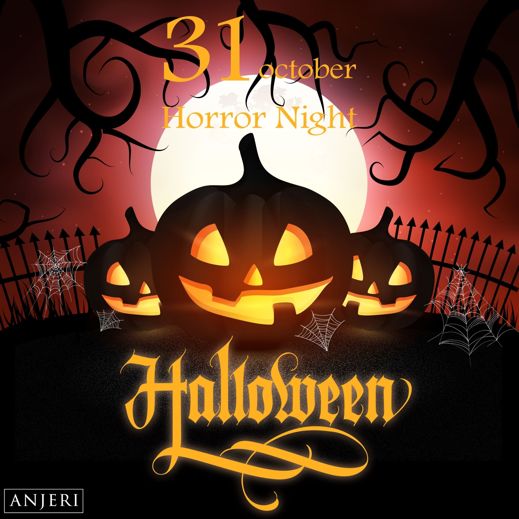 Trick or Treat ANJERI วันฮาโลวีน (Halloween) ตรงกับวัน