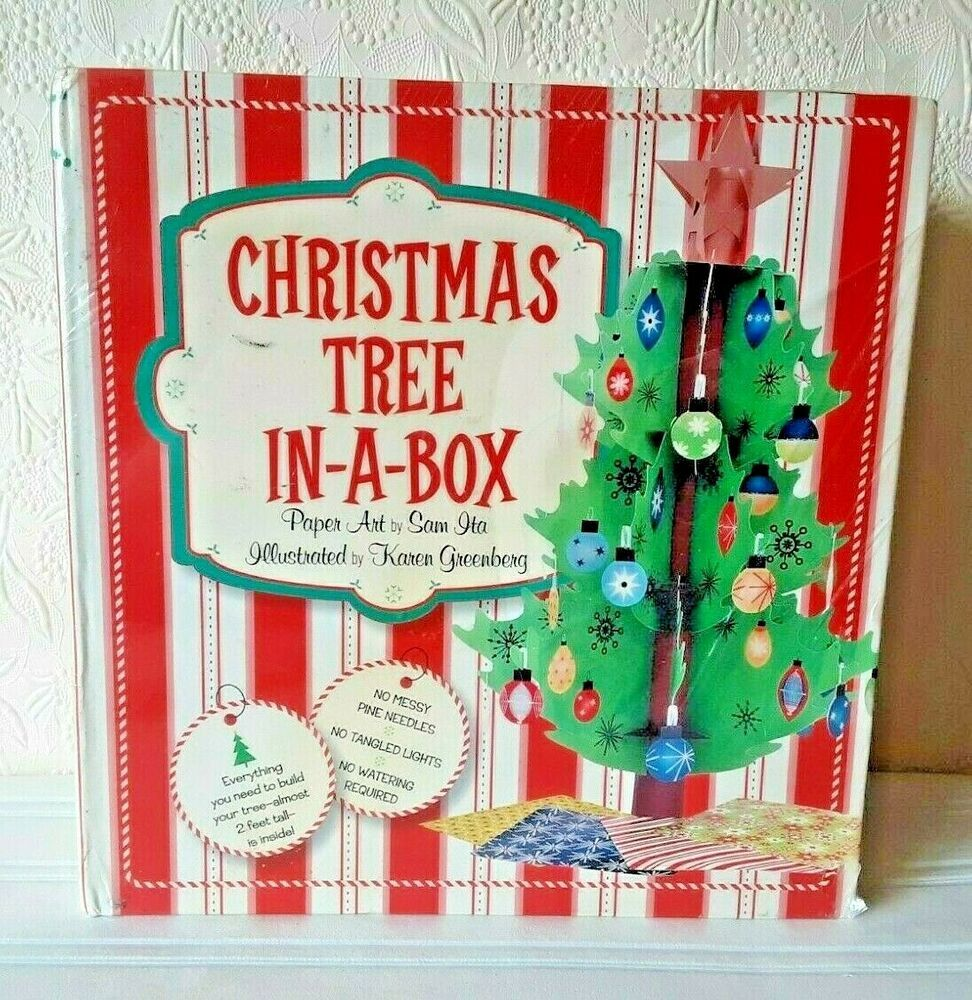 Sterling Christmas Tree In A Box Origami Ornaments Age 6 And Up In 2020 Origami Ornaments Christmas Tree Box Origami
