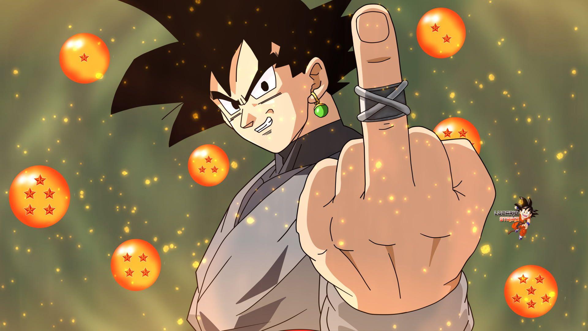 Dragon Ball Z Son Goku Dragon Ball Dragon Ball Super Black Goku 1080p Wallpaper Hdwallpaper Desktop In 2020 Goku Wallpaper Dragon Ball Wallpapers Goku Black