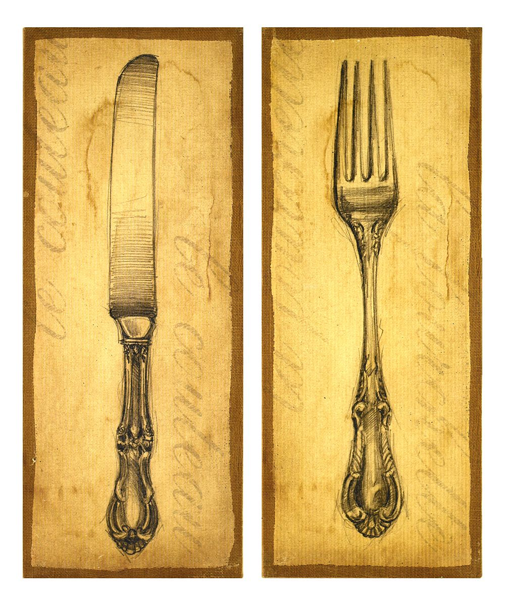 Magnificent Decorative Fork And Spoon For Wall Gallery - The Wall ...